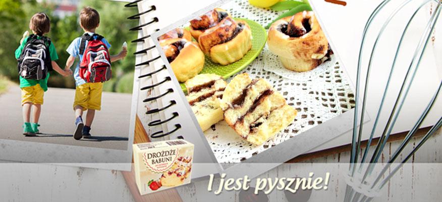 Drożdżowe muffinki