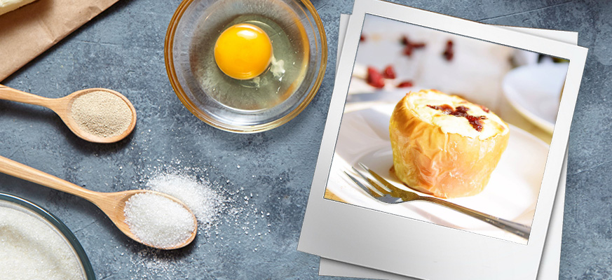 U nas musi być sernik :) Sernik w jabłku