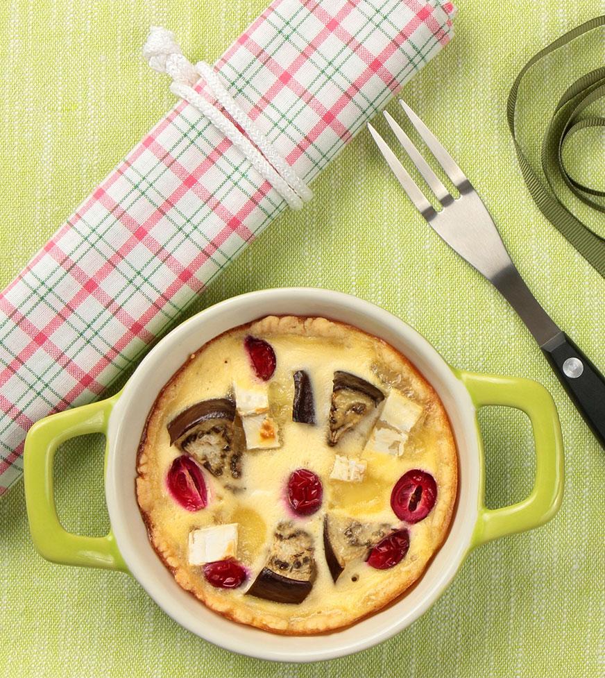 Ciasto z bakłażanem